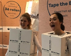 Tape the Box – Laro Tape 2018